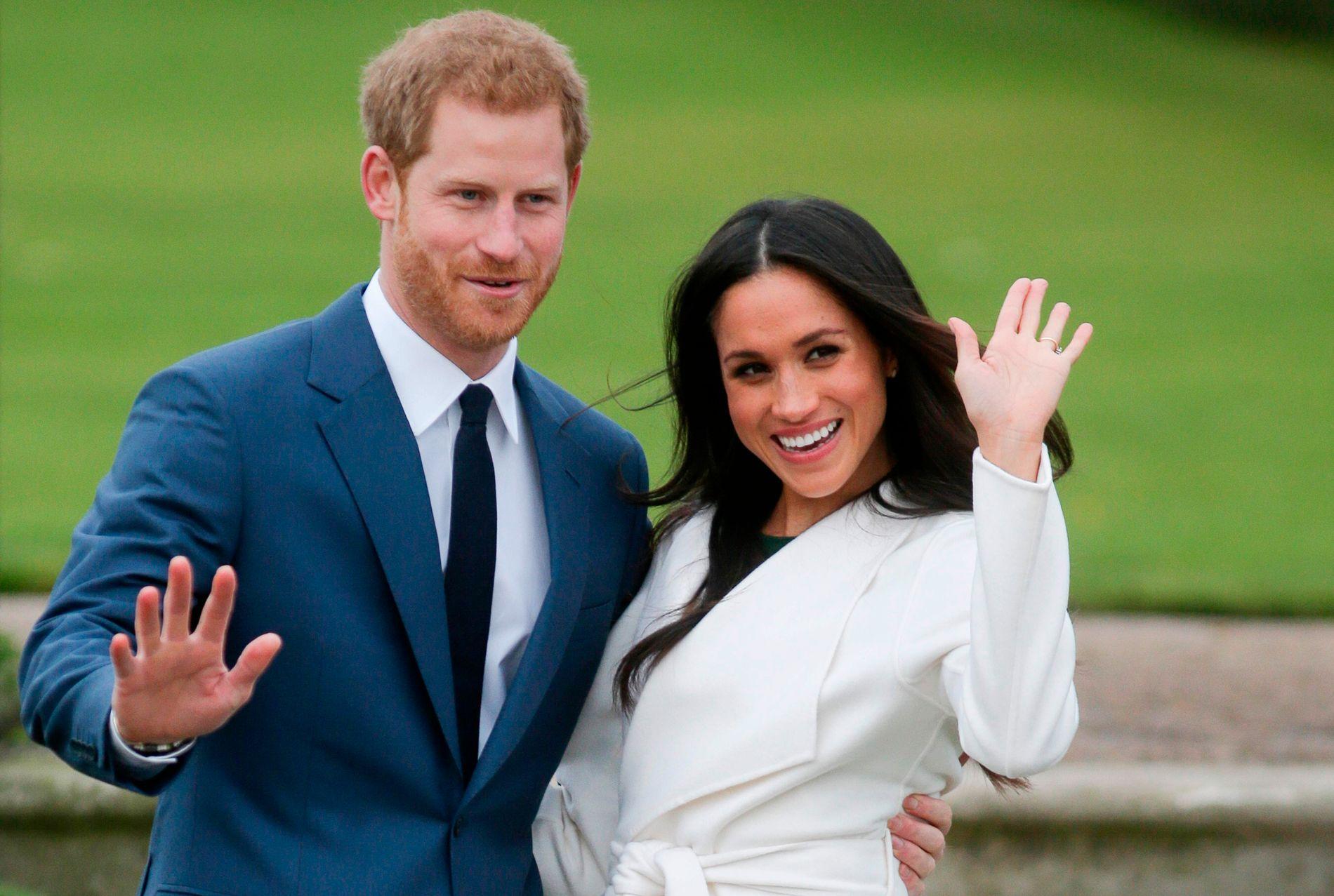 SNART BRYLLUPET: 19. mai gifter prins Harry og Meghan Markle seg i St. George's Kapell.