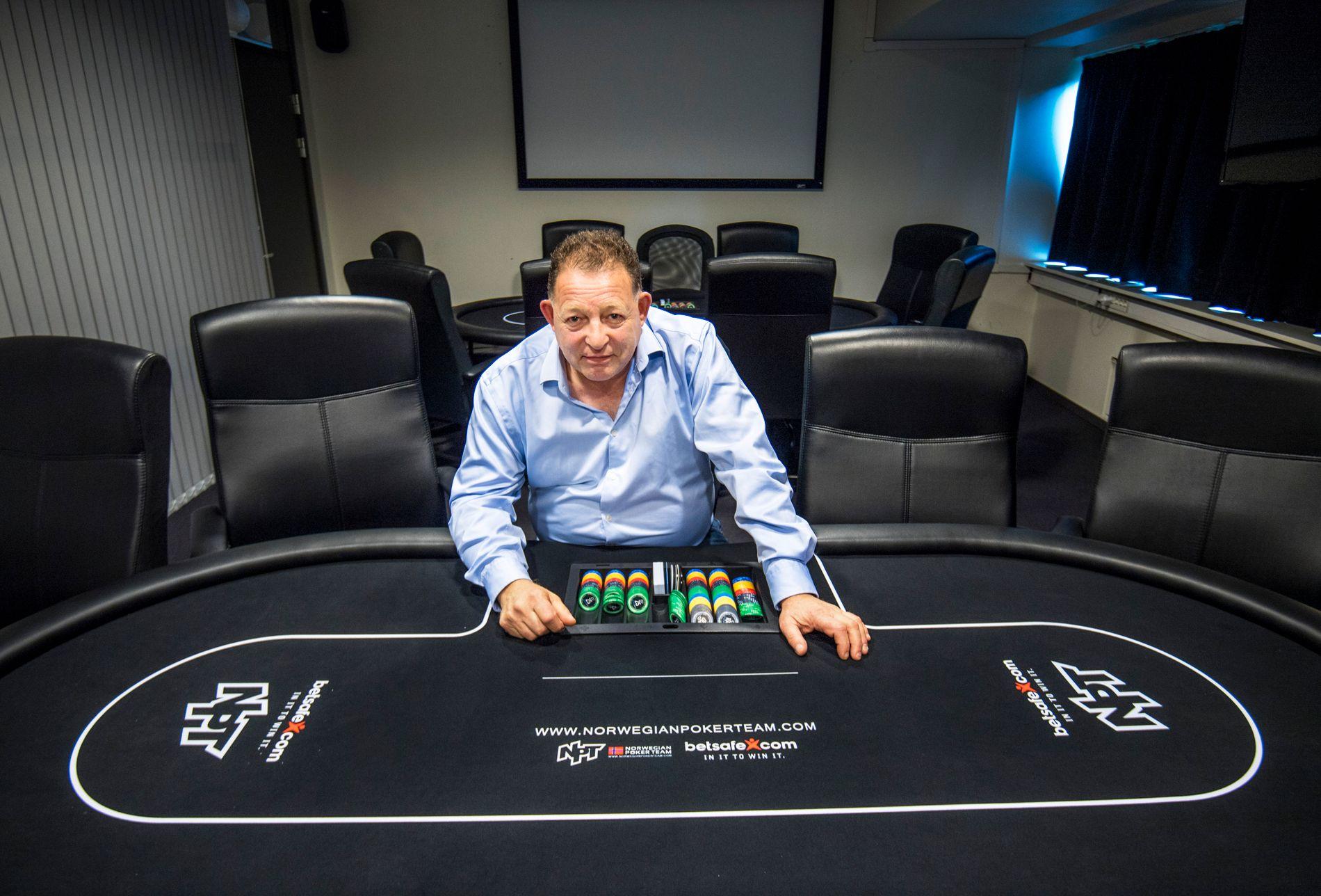 POKER HELLER: Steinar Klein i Norwegian Poker Team mener at en lovendring må på plass
