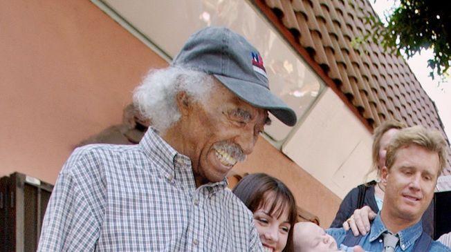 DØDE MANDAG: Jazzlegenden Gerald Wilson er død. Han preget jazzen i hele 75 år.
