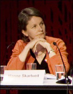 - RIKTIG: VG-redaktør Hanne Skartveit satt i panelet. Foto: Scanpix