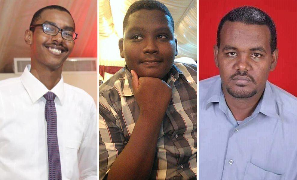 Babiker Abdelhamid (25), Mahjoob Altaj Mahjoob (20) og Ahmed Al- Kareem (34) er alle drept av sikkerhetsstyrker i Sudan dem siste ukene.