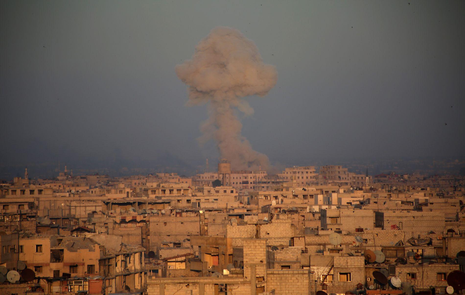 Redd Barna: – Tre millioner syriske barn har ikke opplevd annet enn krig