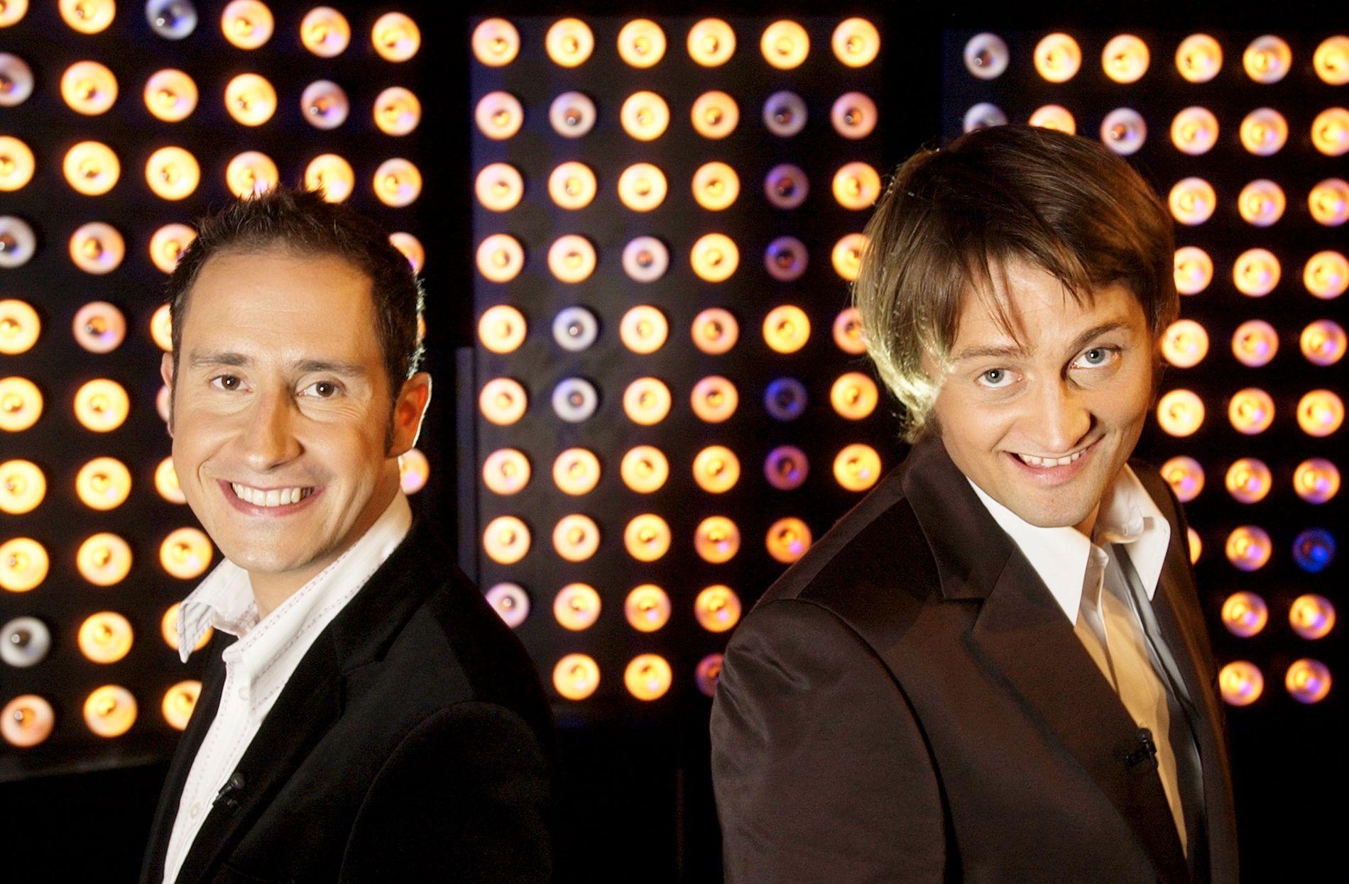 PREMIEREN: Harald Rønneberg og Thomas Numme i oppstartsåret 2003.