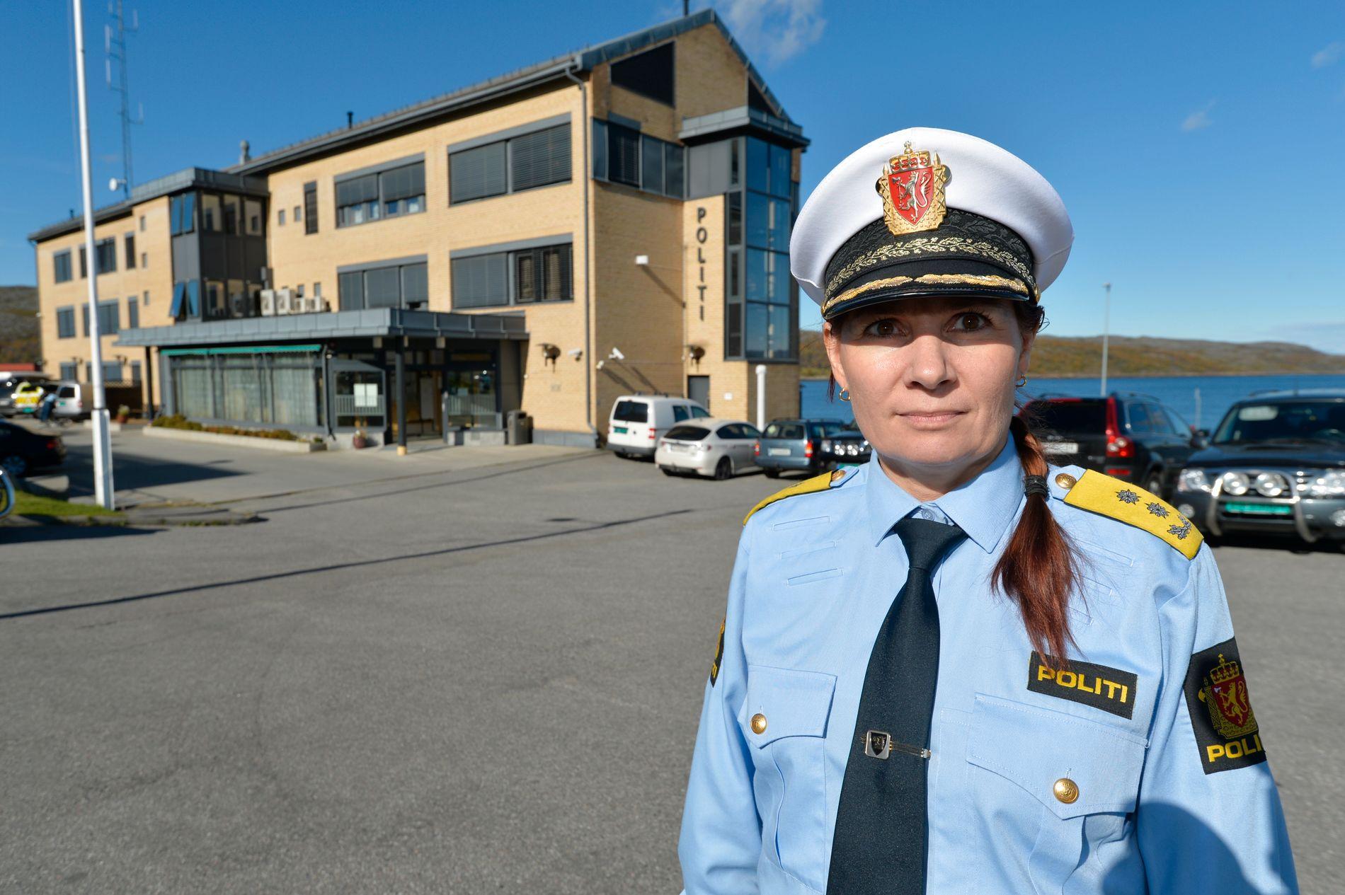 GJORDE DET VI KUNNE: - Ut fra den innsikten vi hadde i kvinnens sak på fredag, så kunne ikke vi gjort noe annet enn det vi gjorde, sier politimester Ellen Katrine Hætta til VG.
