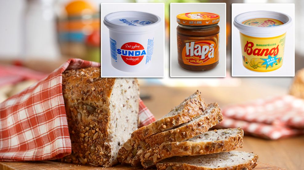 IKKE HELT AV MOTEN: Sunda og Banos ble lansert på 1930-tallet, mens Nøtte kom i 1965. I dag har de en trofast og stabil kjøpergruppe.