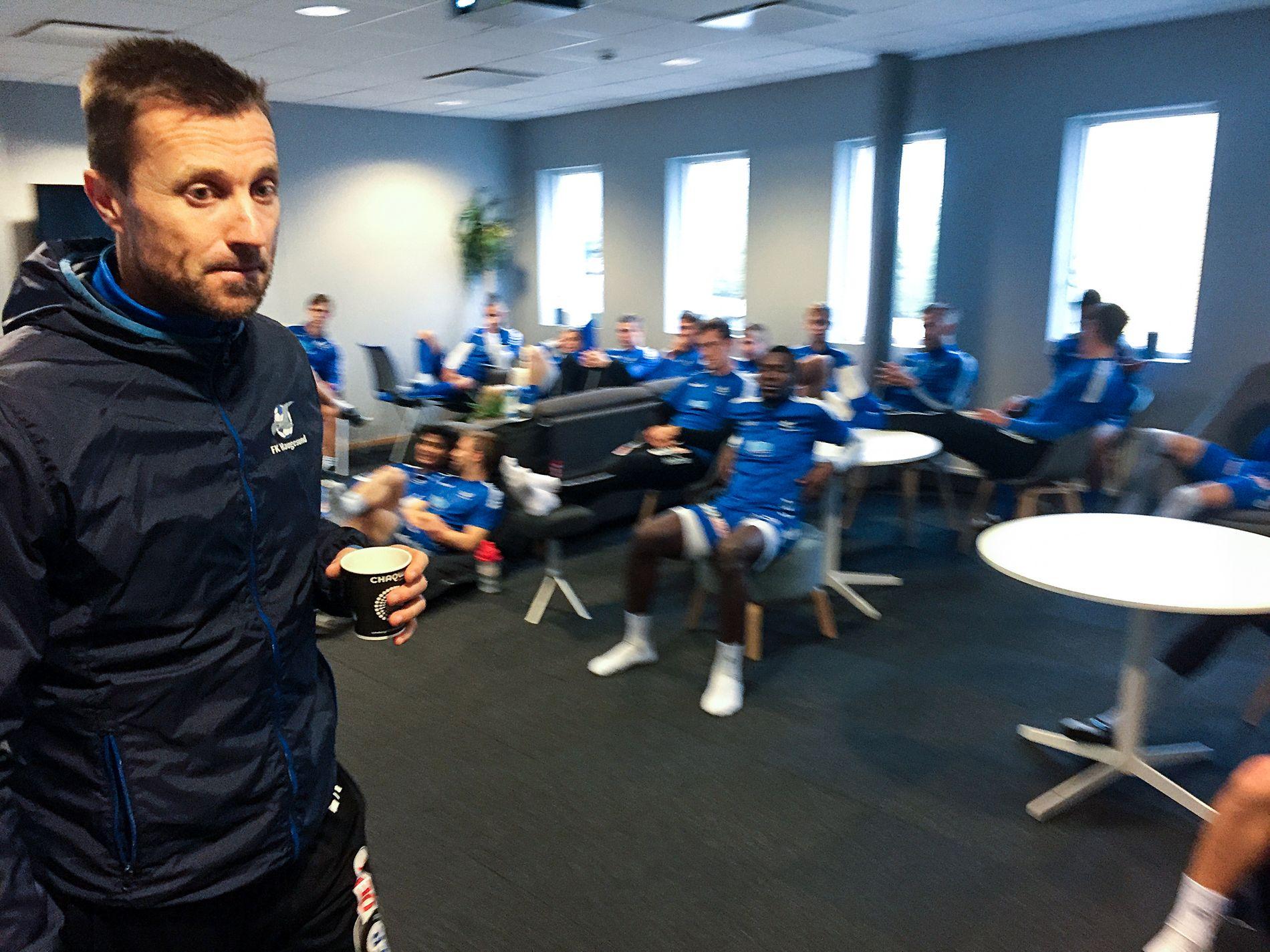 Eirik Horneland forlater denne gjengen til fordel for Rosenborg.