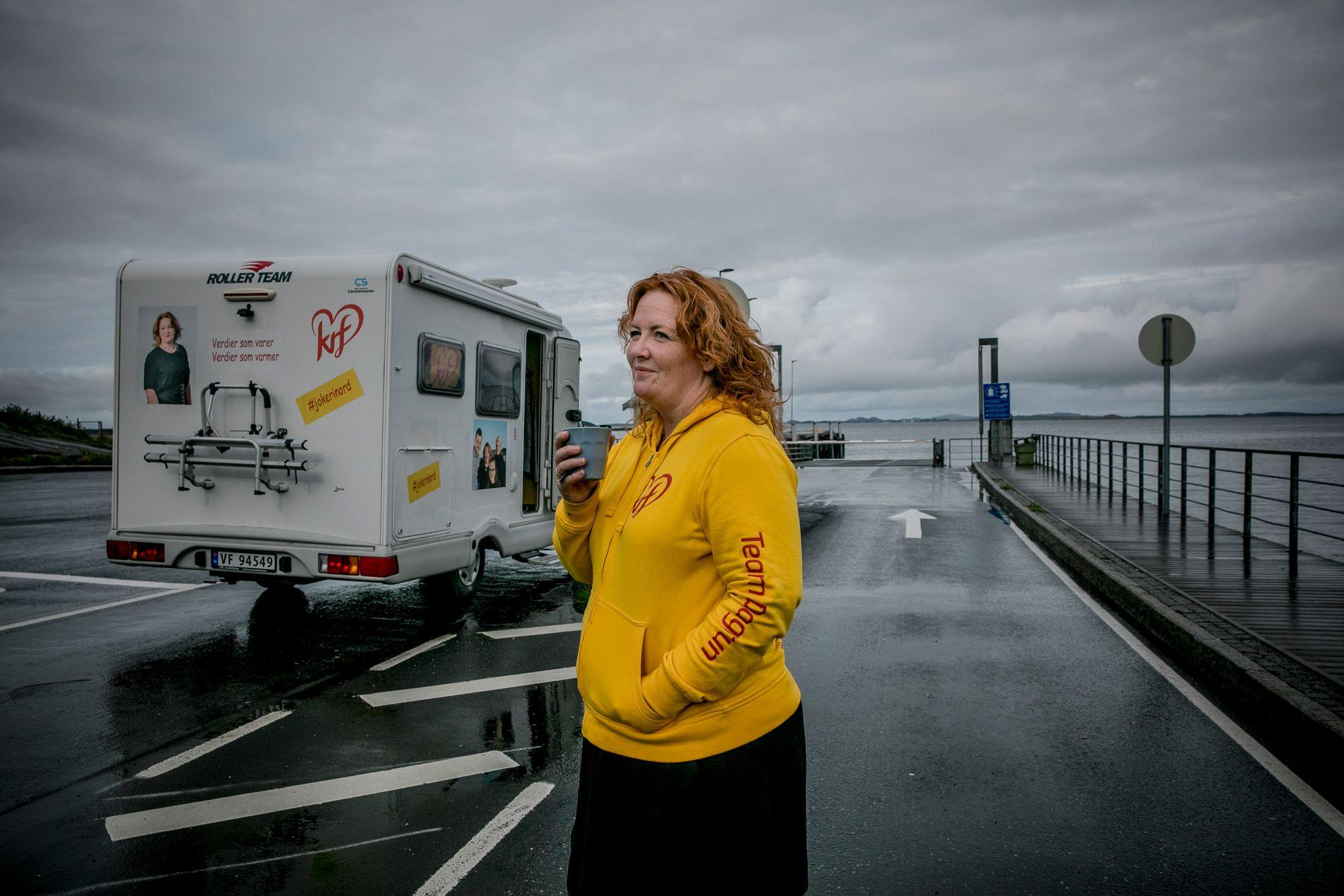 «VILT FORSØK» Dagrun Eriksen beskriver forsøket på å kapre et mandat i Nordland som «vilt».