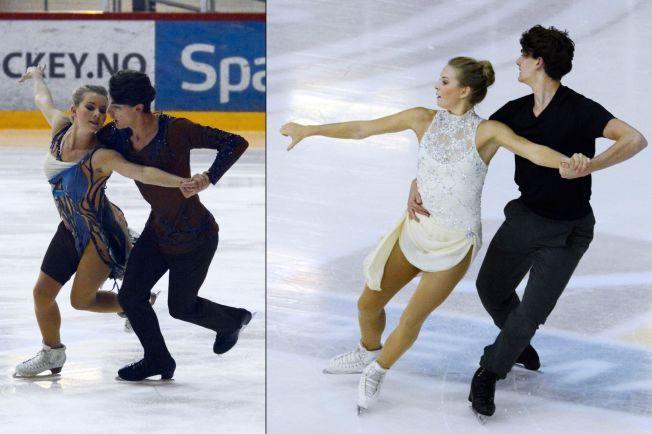 IMPONERTE: Thea Rabe og Tim Koleto imponerte stort i Riga i helgen. Her fra en oppvisning i Asker tidligere i høst.