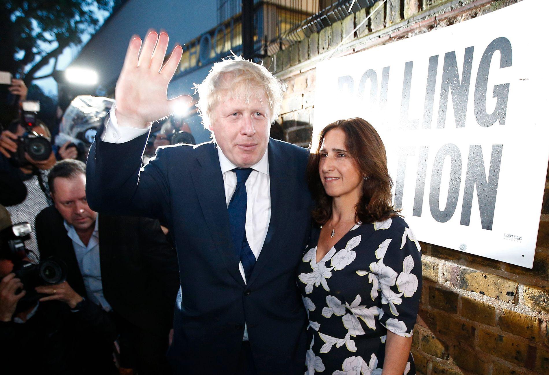 SKILSMISSE: Boris Johnson (54) og Marina Wheeler (54) velger å gå fra hverandre etter angivelige nye utroskapsrykter.