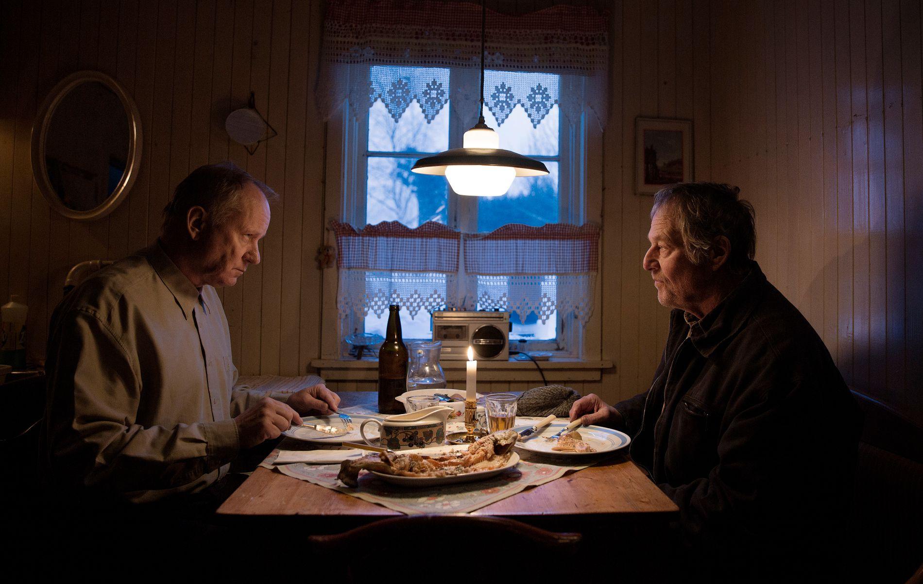 GUBBENIRVANA: Stellan Skarsgårs og Bjørn Floberg i «Ut og stjæle hester».
