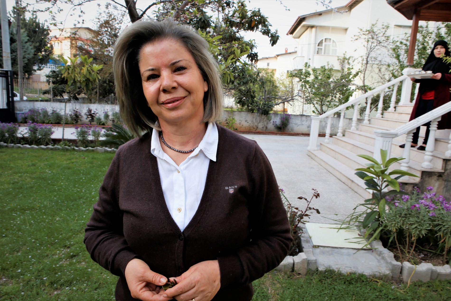 AKTIVIST: Tyrkiske Sidika Berber i Antakya mener at de syriske flyktningene utnyttes av tyrkiske menn, og forsøker å forhindre «kone nummer to»-ekteskapene.