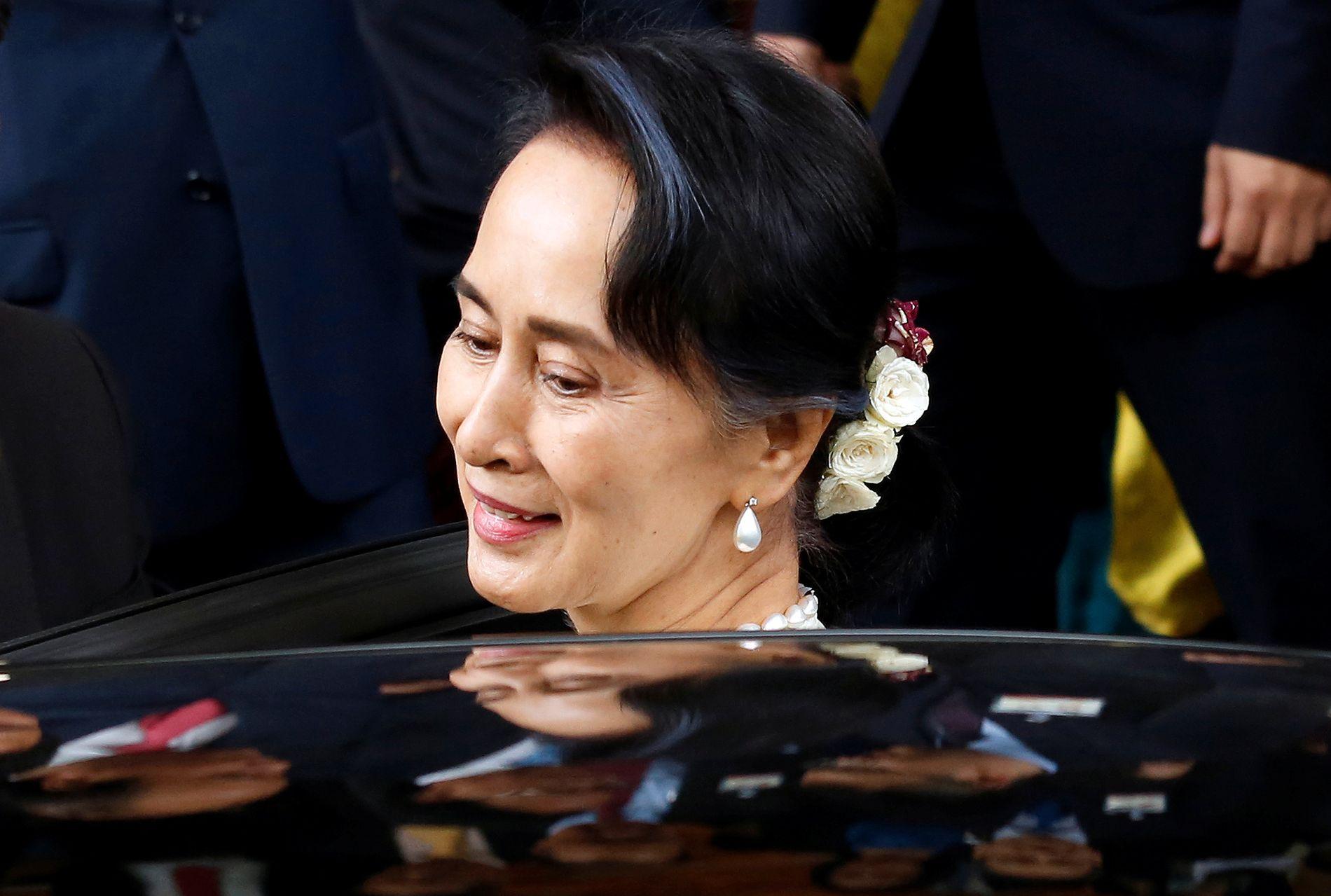 KRITIKK: Aung San Suu Kyi får massiv kritikk etter folkemordet på Rhingya-minoriteten i Myanmar.