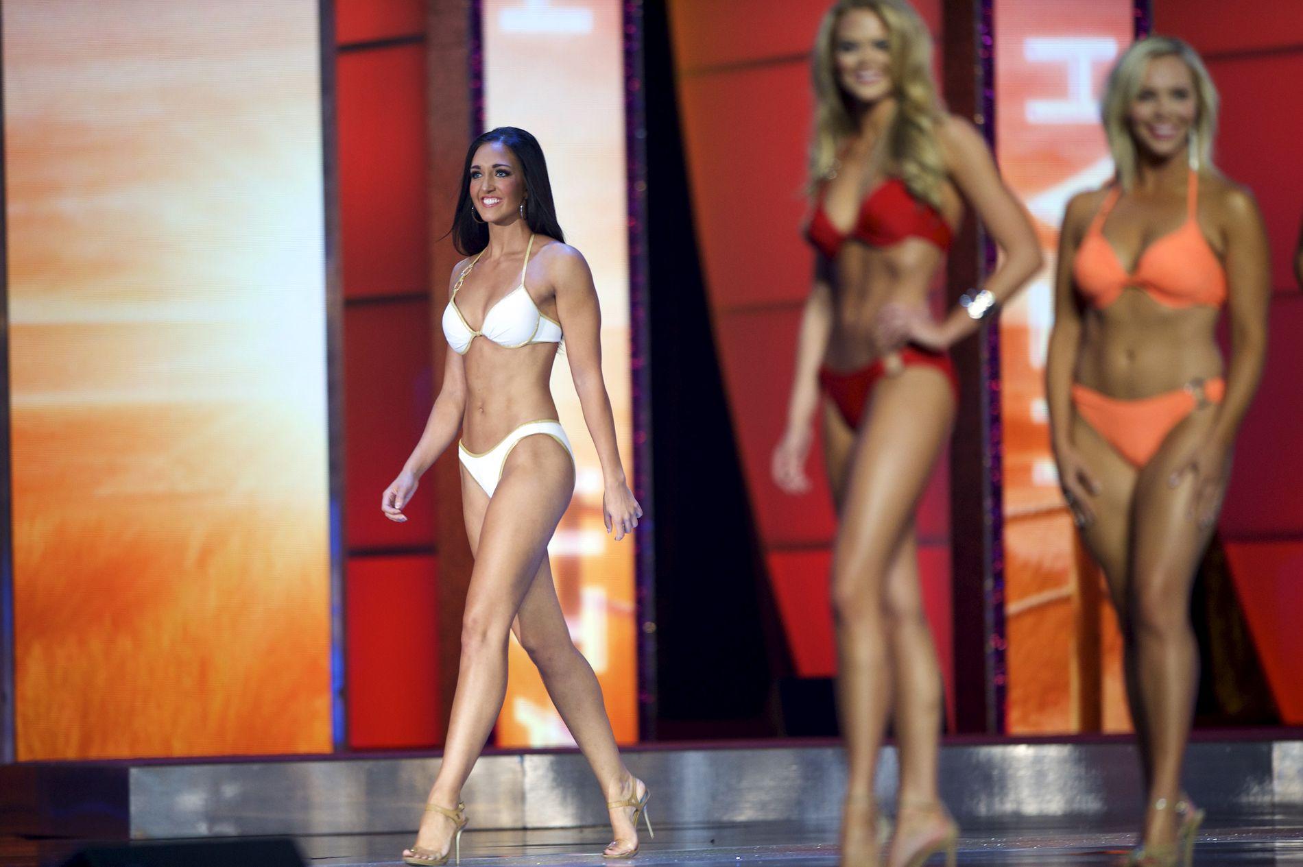 HISTORIE: Glimt fra Miss America i 2015.
