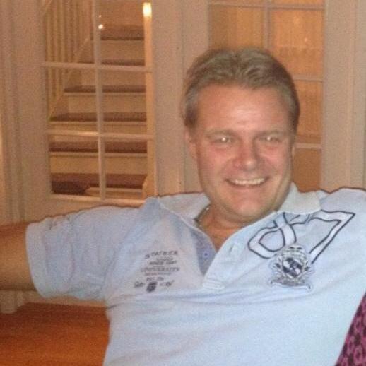 GODT FORNØYD: Geir Ove Refvik er fornøyd med dagens resultater og kaller seieren for «knusende».