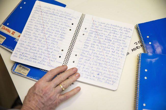 FORSIKRET: Dagbøkene Liv Ullmann fikk av Ingmar Bergman er høyt forsikret.Foto: FRODE HANSEN, VG
