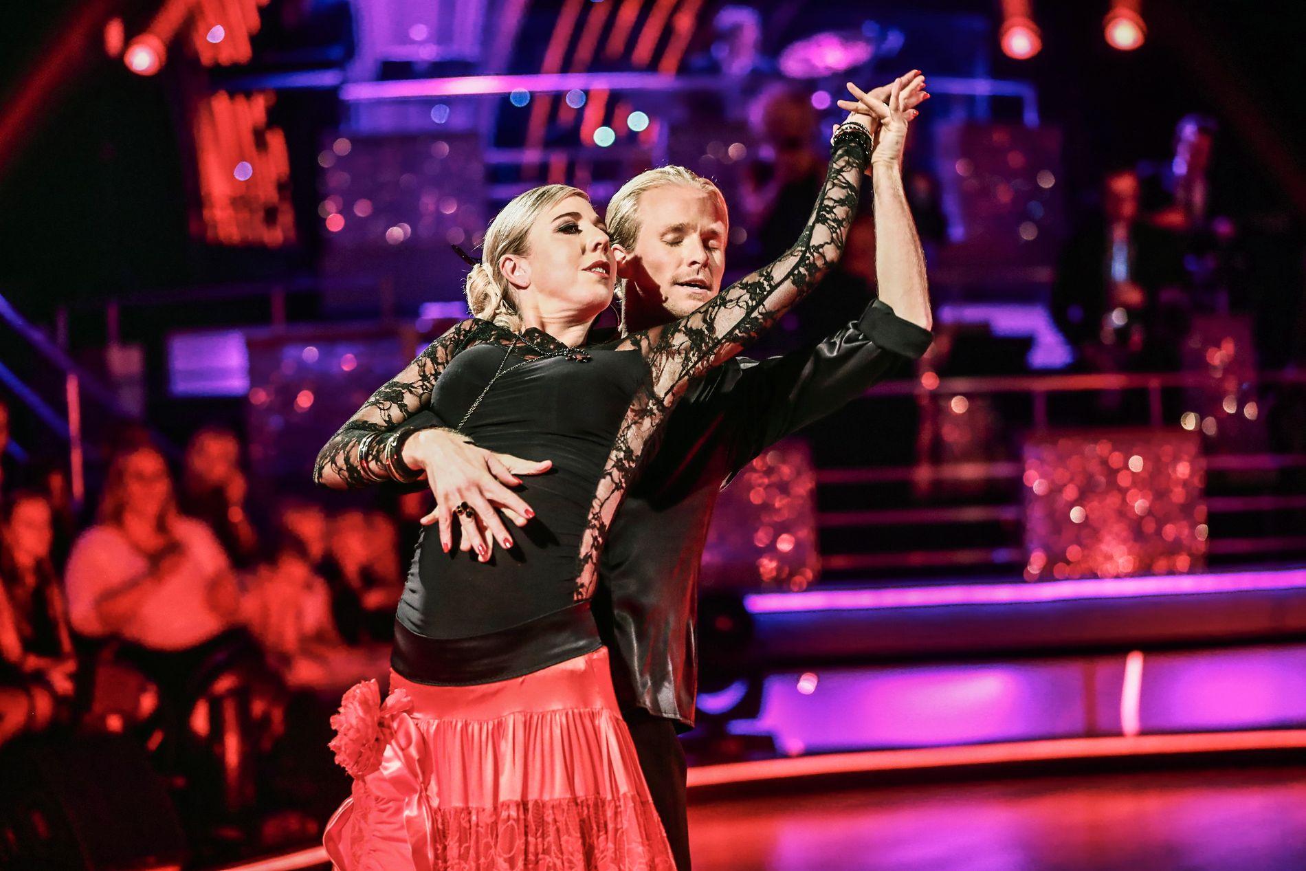 TAPTE: Kristin Størmer Steira og Fredric Brunberg måtte ut av Skal vi danse i kveld.