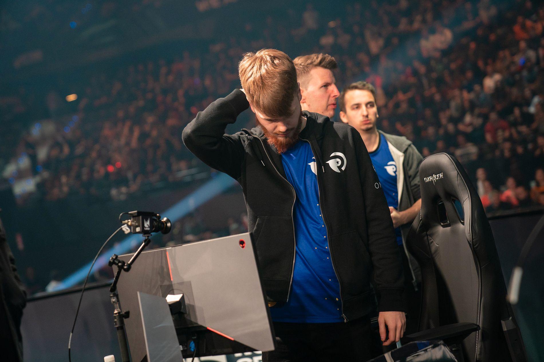 TØFT TAP: Erlend Våtevik Holm og Origen tapte 0–3 mot G2 eSports i Rotterdam, Nederland forrige helg.