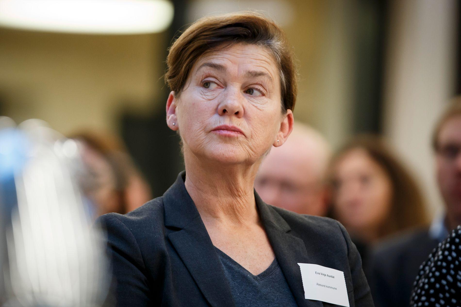 AP-ORDFØRER: Eva Vinje Aurdal er ordfører i Ålesund. Hun kunne i utgangspunktet tenkt seg en større bypakke enn den bystyret vedtok torsdag.