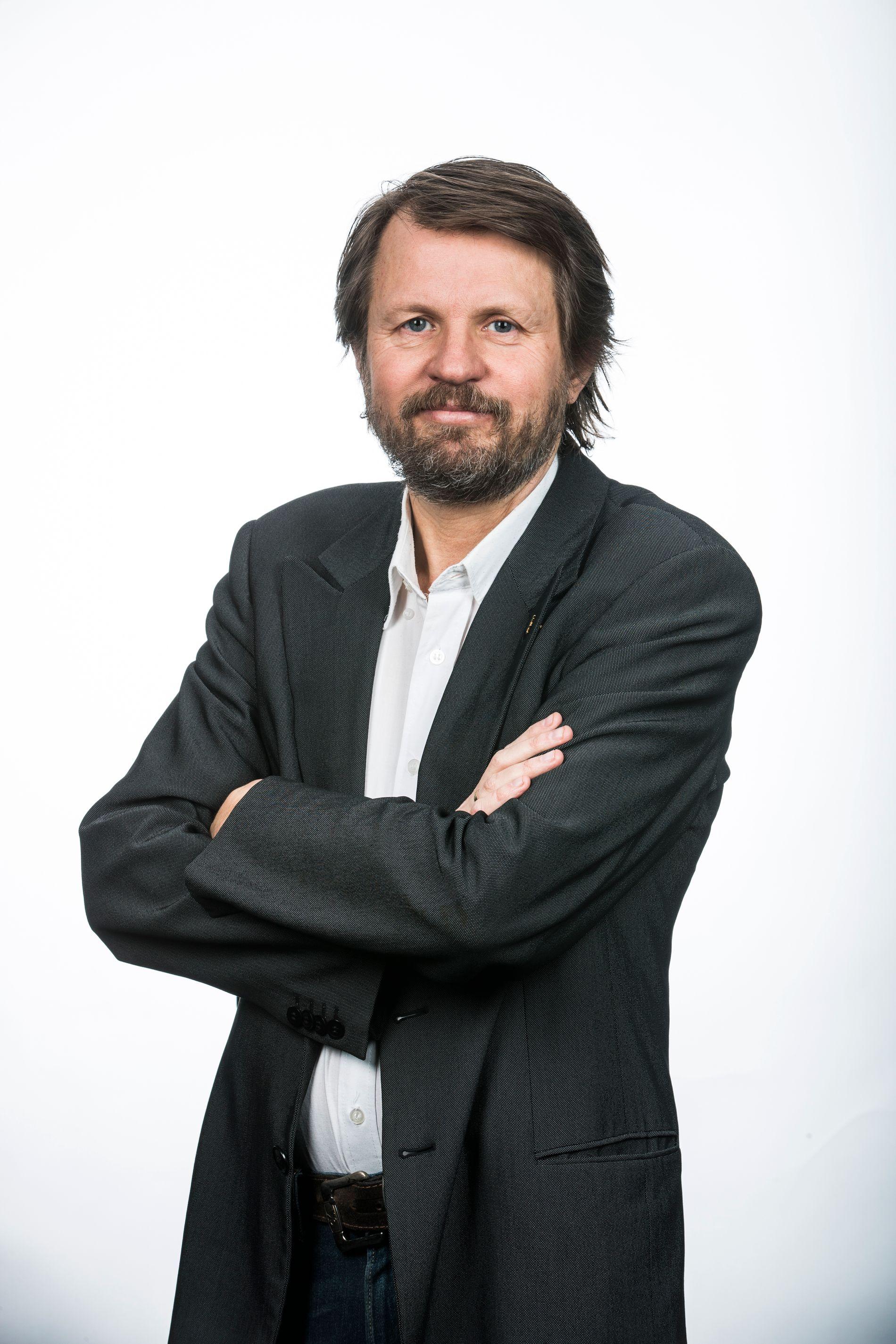 FIKSJON: Tom Egeland mener at skjønnlitteratur må forstås som nettopp det.
