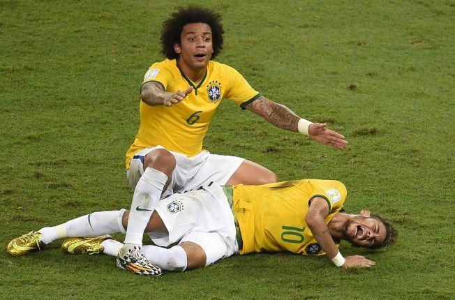 REDSEL: Neymar trodde først han kunne være paralysert, for han kunne ikke føle bena sine.