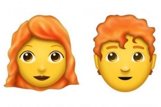 ENDELIG? Nå er ventetiden over for alle som har ønsket seg rødhåret emoji.