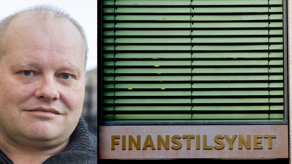 – SKANDALE: Talsperson Gordon Spangelid i «Steng Oslo Creditservice» mener det er en bevisst strategi for Oslo Creditservice å satse på seier ved fraværsdom i forliksrådet.