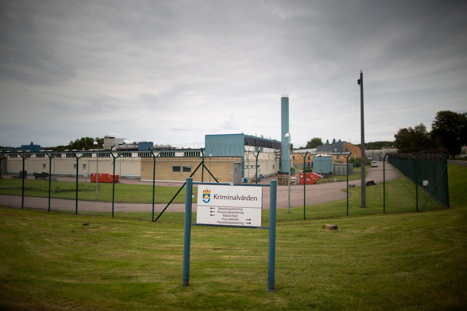 SATT FENGSLET: Makaveli Lindén satt frem til 10. august i år fengslet i Skogome-anstalten, cirka 10 kilometer fra Göteborg.