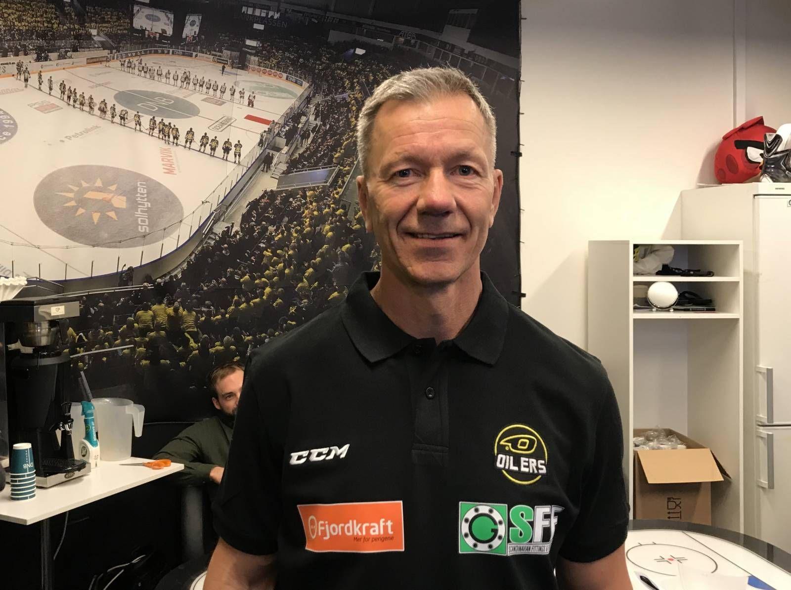 SJEFEN: Todd Bjorkstrand tar over Stavanger Oilers.