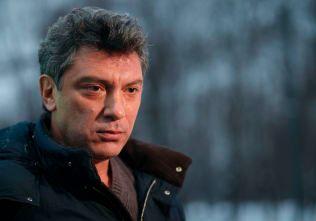 DREPT: Opposisjonspolitikeren Boris Nemtsov ble myrdet på åpen gate i februar.