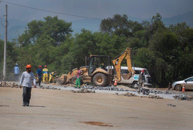 BYGGEPLASS: Mye gjenstår før Rio de Janerio er klart til å huse OL. Deodoro er en av fire områder for arrangementet.