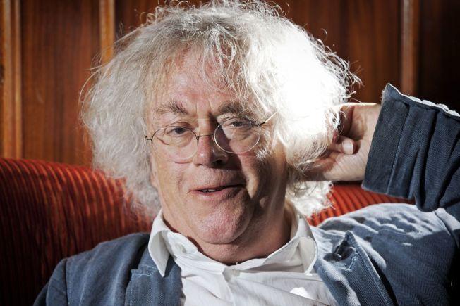 FORFATTER: Dag Solstad, her avbildet i bibliotekbaren på Bristol i forbindelse med sin 70-årsdag.