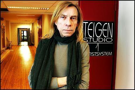 FORLATER STUDIO: Jahn Teigen har lagt ned studiodriften på Aker Brygge. Foto: Trond Solberg