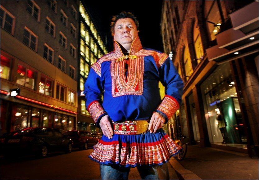 HEVER STEMMEN: Mattis Hætta - her på et bilde fra 2007 - misliker sterkt at hans stemme og «Samiid Ædnan» brukes i grøsseren «The Thing», selv om låtrettighetene ligger hos Universal Music som har lisensiert ut låten. Foto: Frode Hansen/VG