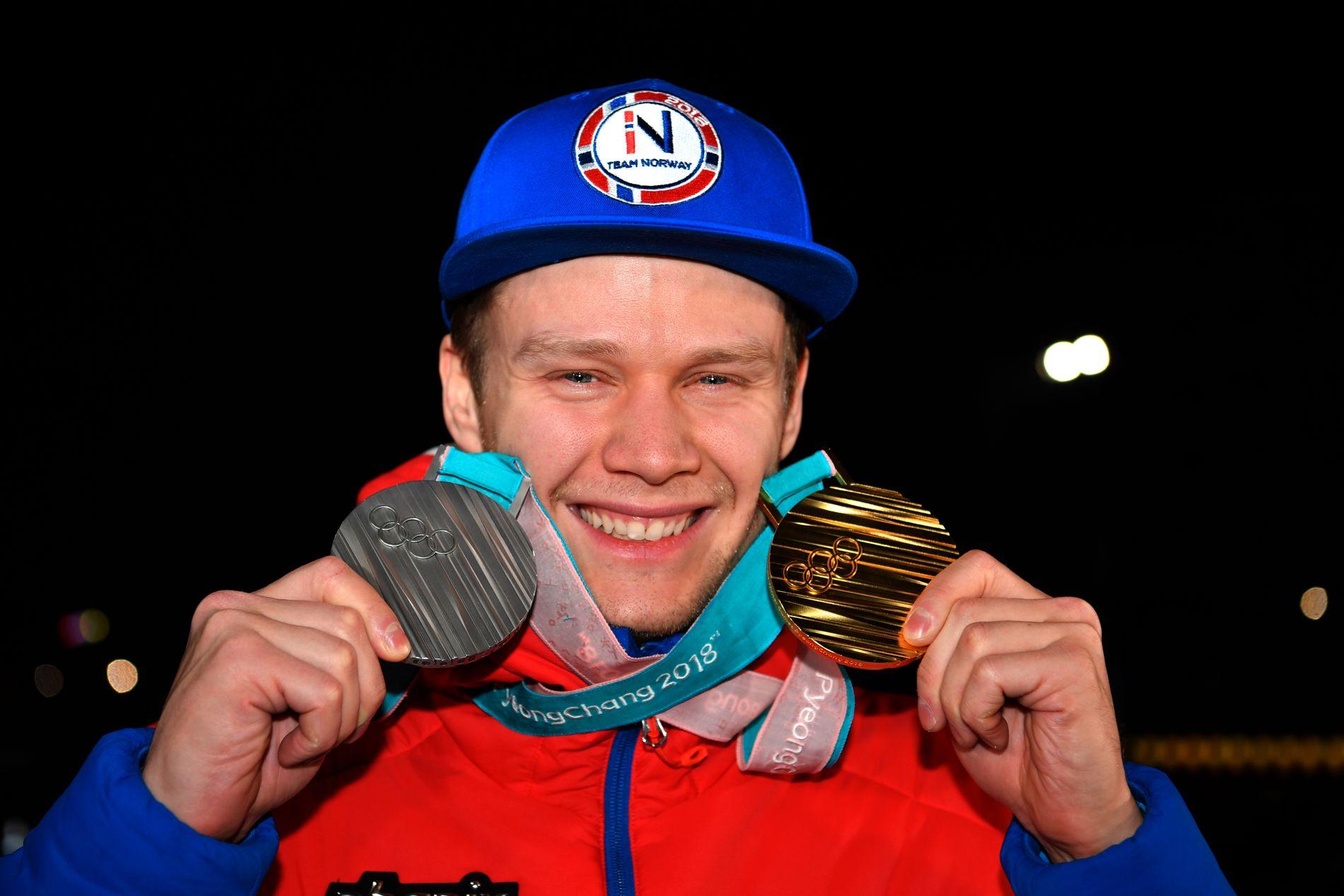 KLAR FOR NY SESONG: Håvard Lorentzen (26) vant gull på 500 meter i Sør-Korea i februar med ny OL-rekord og sølv på 1000 meter, fire hundredeler bak vinneren Kjeld Nuis fra Nederland.