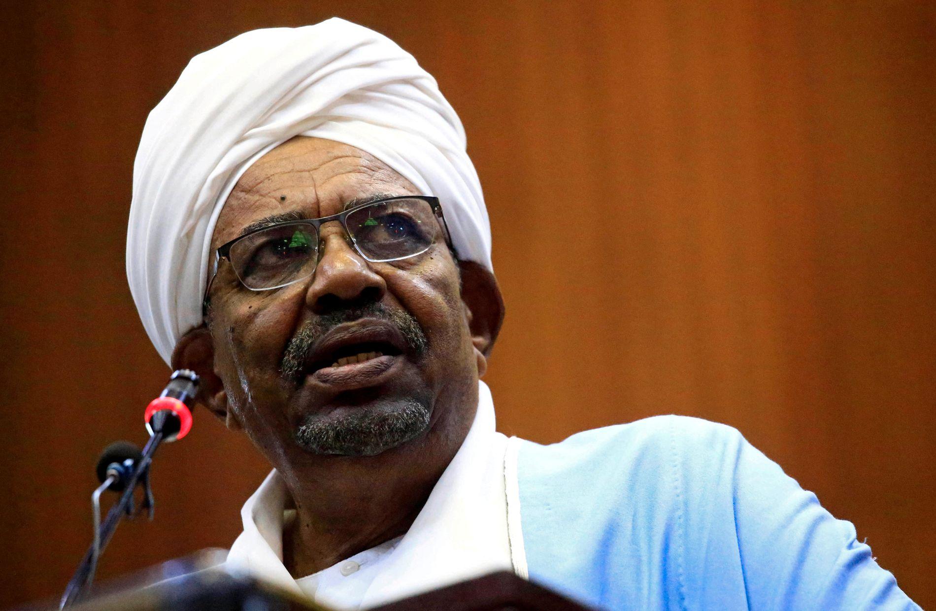 AVSATT: President Omar al-Bashir.