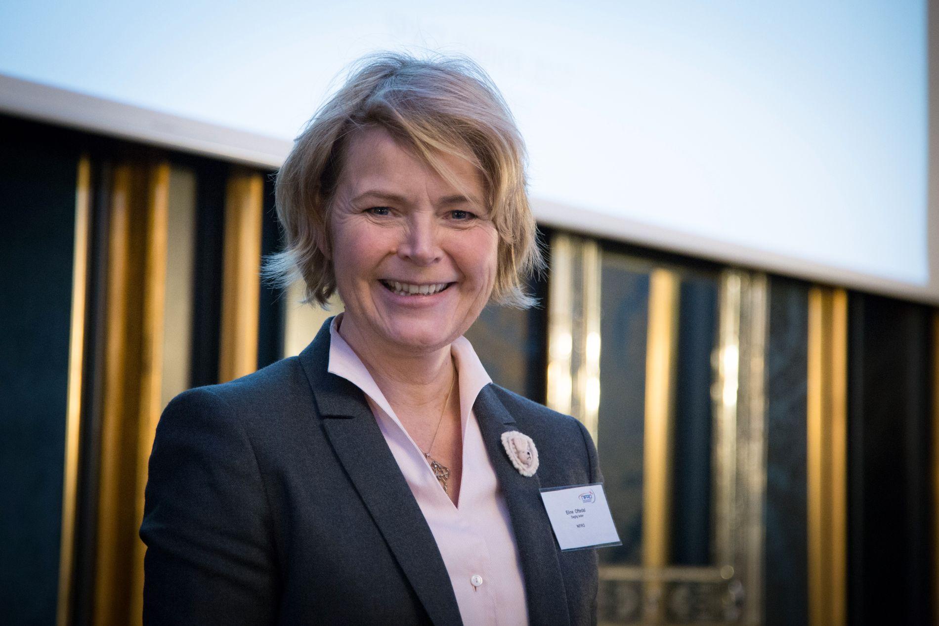 PRESIDENT: Eline Oftedal er særforbundspresident i Norges Fleridrettsforbund.