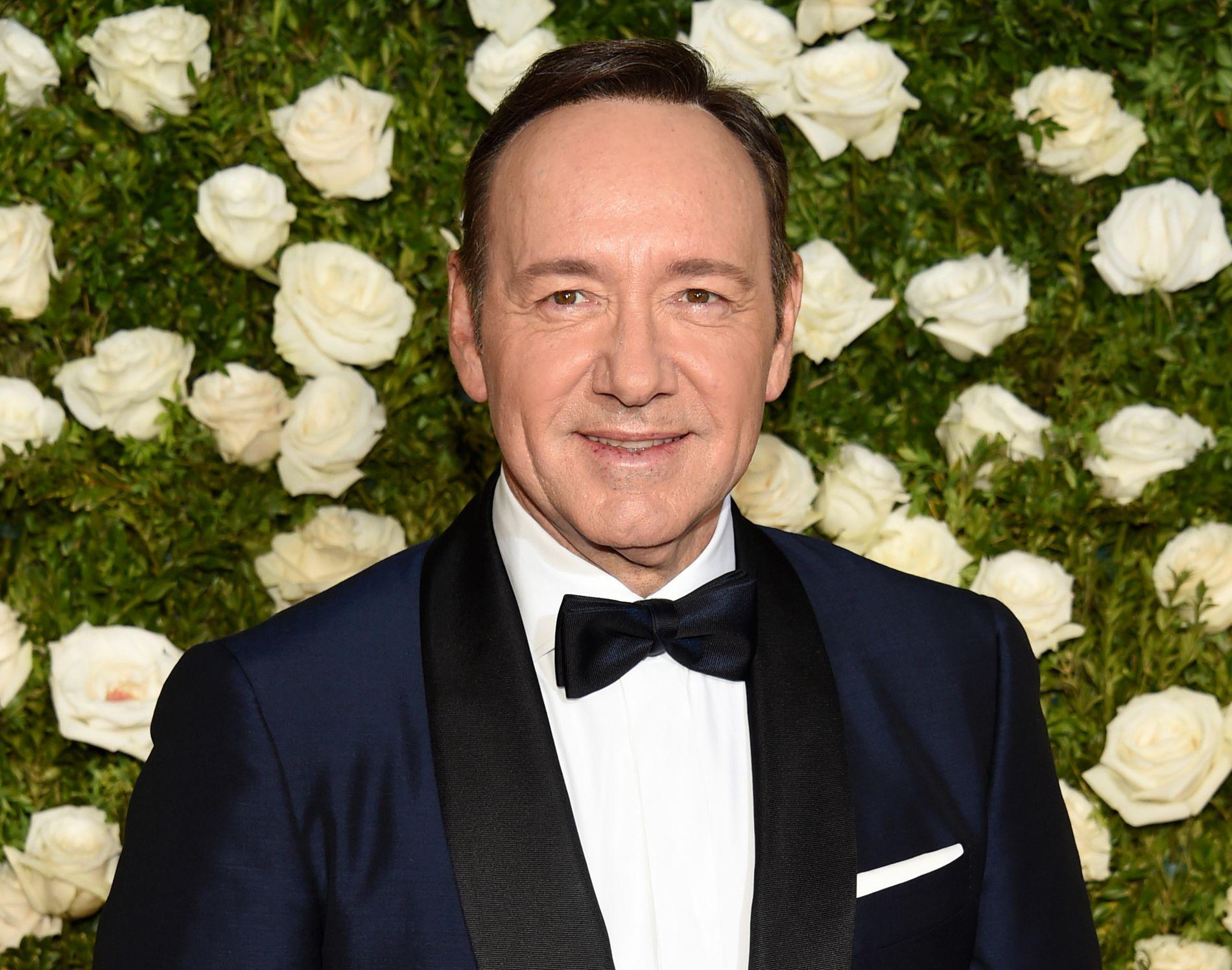 Anklaget: Et London-basert teater har etterforsket 20 anklager om seksuell trakassering mot Kevin Spacey