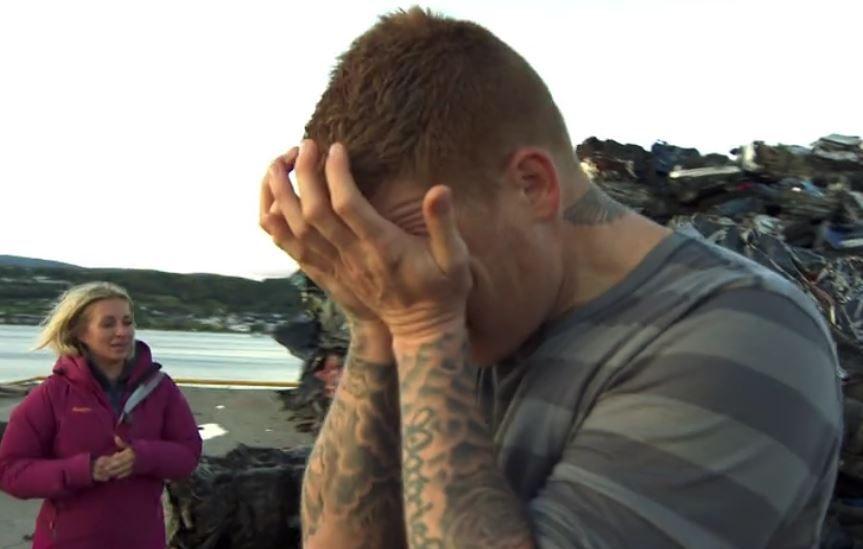 TAPTE MED VILJE: Jon Arne Riise ville hjem, og «la seg» i søndagens utslagskonkurranse i «71 grader nord».
