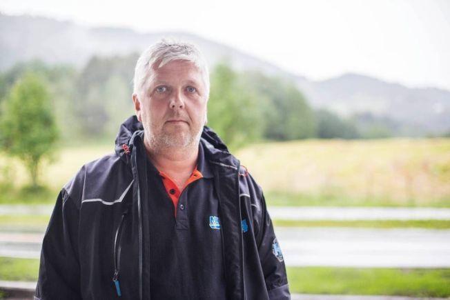 TANKBILSJÅFØR: Tore Myrestrand sier til VG at han ble litt skjelven da hengeren eksploderte.