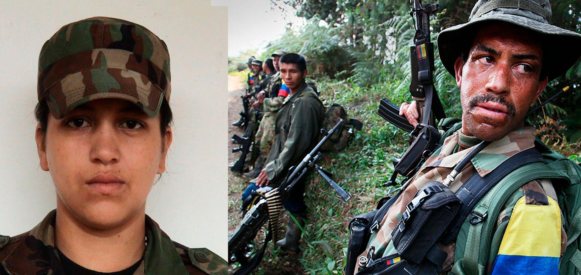 VIL HA FRED: Sonia Gonzalez (32) sier hun har kjempet for å endre det colombianske samfunnet. Nå er hun klar for et liv utenfor FARC-geriljaen.