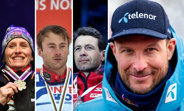 SLUTTER: I tur og orden har Norges største vinterstjerner lagt opp. Etter at Marit Bjørgen, Petter Northug og Ole Einar Bjørndalen har satt punktum, takker Aksel Lund Svindal for seg etter utforen i Åre.