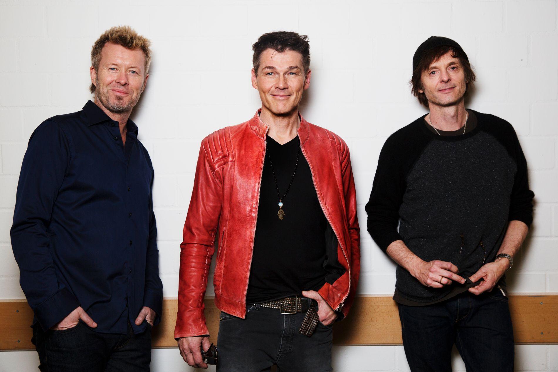TURNÉKLARE: A-ha starter «Hunting high and low»turneen sin i Dublin 29. oktober. I februar gjester de Dubai.