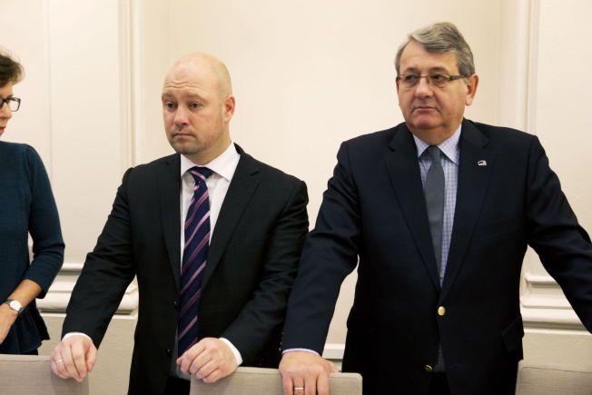 BEDRE TIDER: I Stortingets kontroll- og konstitusjonskomité satt Frps Anders Anundsen og Per-Kristian Foss (H) sammen. Nå slakter Foss' Anundsens innsats for beredskapen.