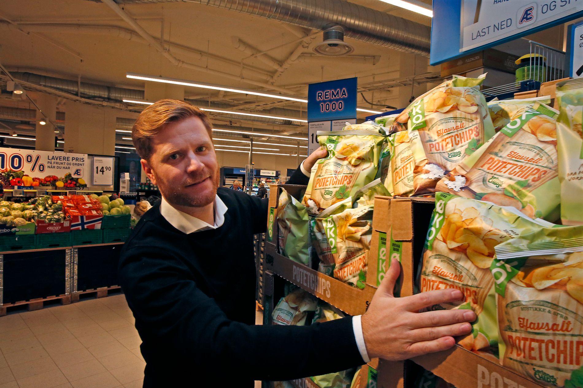 KUTTSJEF: Lars Kristian Lindberg, konserndirektør for strategi og innkjøp i Rema 1000.