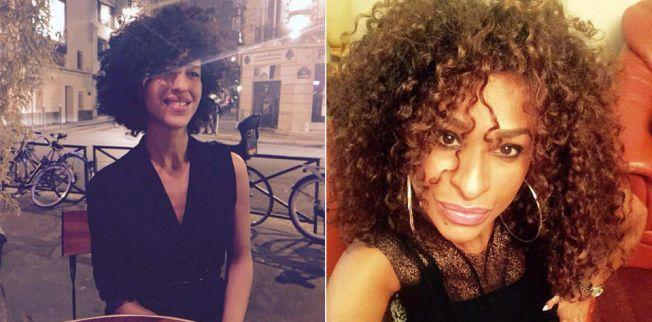 FEIRET FØDSELSDAG: Tunisiske Hodda (tv) og Hamila Ben Khalifa Saadi var ute i Paris for å feire Hoddas 35-årsdag da de ble skutt og drept på «La Belle Équipe».