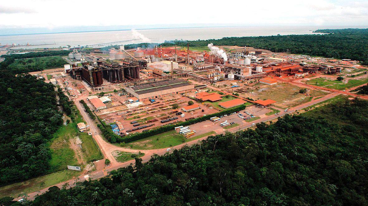 HYDRO-EID: Alunorte-anlegget i Brasil. Hydro eier 92 prosent.
