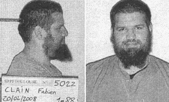 ETTERLYST: Bilder fra Interpols etterlysning av Fabien Clain.