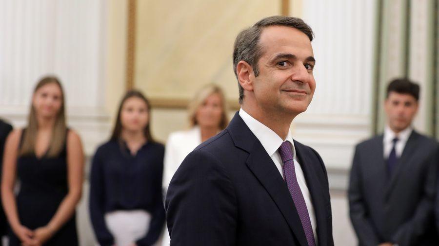 TRE ÅR: Det tok tre år fra Kyriakos Mitsotakis overtok som leder av partier Nytt Demokrati, til han vant valget og overtok som statsminister i Hellas tirsdag denne uken.