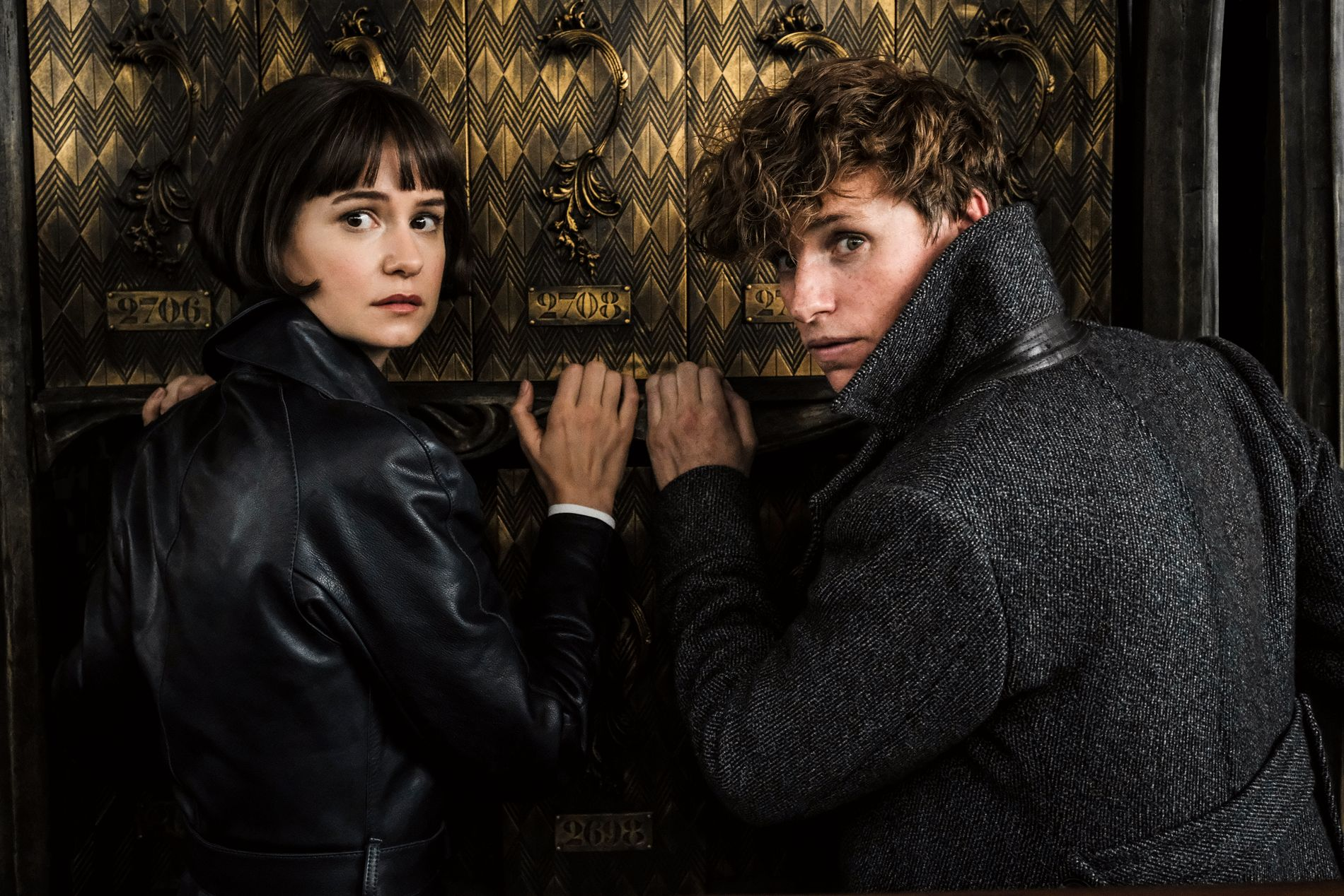 GOLDEN: Porpentina Goldstein (Katherine Waterston) and Salmander Fisle (Eddie Redmayne) fail to recreate the golden magic of the former film.