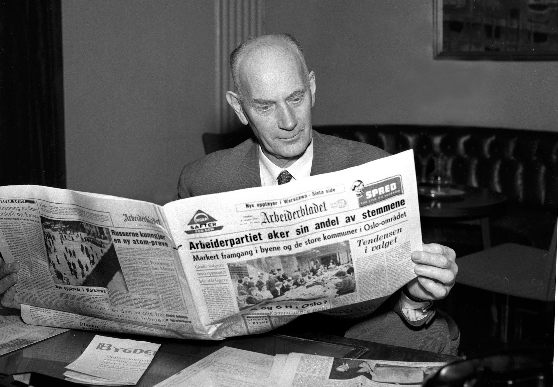 Landsfaderen, Einar Gerhardsen, hadde god oversikt over partiorganisasjonen